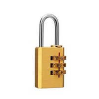 Wholesale 1 High Security Mini Lock Digit Combination Password Lock Copper Password Padlock High Quality