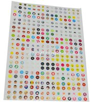Wholesale Set Set Set Cute Cartoon Rubber Home Button Sticker for iPhone7 plus S G S Plus