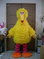 big bird costumes - 2016 Big Yellow Bird Mascot Costume Cartoon Character Costume Party Adult Size Factory direct