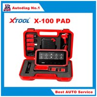 audi tablet - 2016 New arrival XTOOL X PAD Tablet Key Programmer with EEPROM Adapter X100 PRO X X PRO DHL free