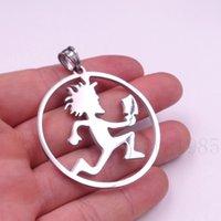 hatchet man necklace - ICP HATCHET MAN CIRCLE CZ PENDANT Stainless steel w30 quot necklace chain choose