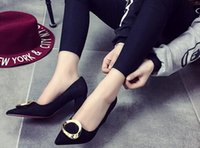 Wholesale Brand new fashion chunky heel women shoes sexy shoes casual shoes