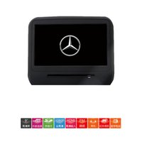 Wholesale Mercedes dedicated high definition touch head pillow screen car display rear seat entertainment system car rear LCD TV