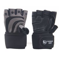 Wholesale Sports Gloves Fitness Gym Half Finger Weightlifting Gloves Exercise Training Multifunction for Men amp