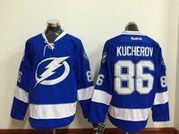 Wholesale Kucherov Lightning Hockey Ice Jerseys blue white black Premier home away CCM wear for Men Mix Order sunnee