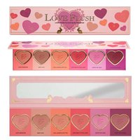 Wholesale 2016 High Quality Love Flush Long Lasting hour Blush Wardrobe Palette SIX Shades Presell
