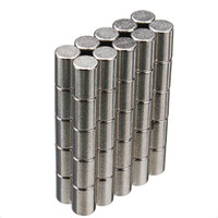 Wholesale High Quality Strong Mini Round Cylinder Bar Magnets x6mm Rare Earth Neodymium N52 Price