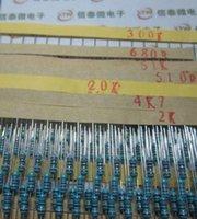Wholesale Set Kind W Resistance Metal Film Resistor Assorted Kit Each Shipping