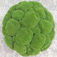 artificial moss balls - 12cm artificial moss balls Decorative Flowers Wreaths Christmas home Hotels Office decoration