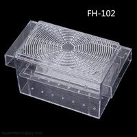 aquarium breeder - Boyu FH Large cm cm cm Aquarium Fish Breeding Box Plastic Tank Fry Trap Hatchery Floating Breeder Isolation Fish Baby Hatchery