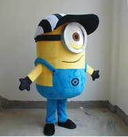Wholesale New Cute Despicable Me Mascot Costume Adult Cartoon Character Costumes Minions Mascot Costume