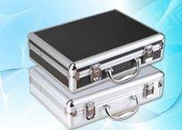 aluminum files - Tactical box aluminium tool case MM magic props file storage Hard carry tool box Hand Gun Locking Pistol