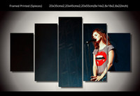 art concert posters - Lana del rey the music Concert poster modern canvas arts for home decor hot sales wall painting