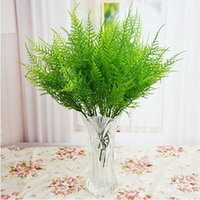 asparagus grass - Plastic Stems Artificial Asparagus Fern Grass Bushes Flower Bonsai Home Garden Decor Floral Accessories