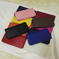 american selling card - M103 wallet women classic fashionable original box hot selling fashion new arrival multi colors zipper quality promotional discount sale