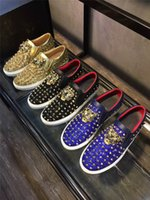 b p - 2016 New British style Metal Leopard German P P Shoes Genuine leather casual fashion Nightclub penny loafer hip hop shoes