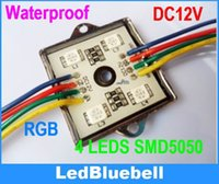 ironing board - Super Bright RGB LED Light Module Leds Waterproof V Iron Shell LED Module For Advertising Board Display Window
