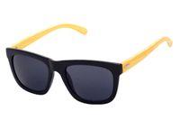 amber hand - Designer Natural Bamboo Sunglass Eyewear Glasses Style Hand Made Wooden Temple Plastic Frame Vintage Sun Glasses For Women Men J1T53