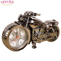 alarms party gift - New Friends Birthday Party Gift Needle Creative Motorcycle Shape Alarm Clock