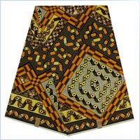Wholesale African super wax hollandais wax fabric real batik fabrics for dresses yards NEW cotton ankara style