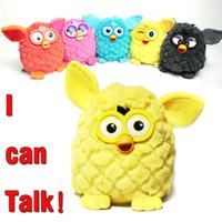 Wholesale New Electronic Toys Owl Pheobe Pet Learning amp Education Plush Toys Recording Talking firby Gift For Children