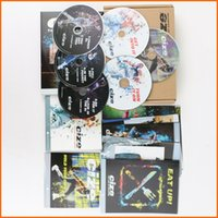 Wholesale Big Version Cizes DVD Workout Exercise Videos Hot Sale Exercise Fitness Video Fitness Workout Set with Guide Books