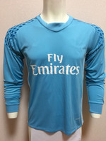 best ter - 16 TER STEGEN NAVAS DE GEA BUFFON NEUER Goalkeeper Long Sleeve Soccer Jerseys Best Thail Quality Goalkeeper Soccer Jersey Jerseys