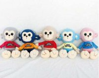 Wholesale 2016 Mascot Monkey Toy Doll Plush Toys Lovely Creative Splicing Dolls For Children Year Of The Monkey Mascot Monkey Mascots