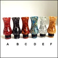 Wholesale Beautiful gourd type Drip Tips Mouthpiece pure resin drip tip fit all ego tank