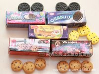 Wholesale Simulation cookies model toys doll food toys for kids gift DIY accessories doll house Decoration