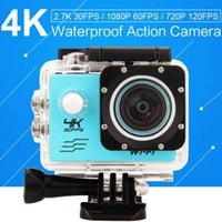 Wholesale 4K WIF Action Camera MP quot Sports HD DV MINI Cam underwater M waterproof Camera Action Cam