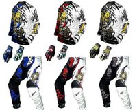 Wholesale motorcycles motorcorss cross T shirt trousers glove quick drying motorcross clothing for adult child