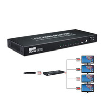 amplified audio splitter - by DHL or EMS pieces Port HDMI Amplified Powered Splitter Signal Distributor Ver FHD P Deep Color HD Audio