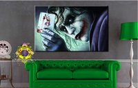 Wholesale HD Printed batman the dark knight joker Painting on canvas room decoration print poster picture canvas ny