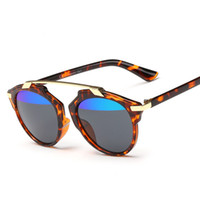 al real - Cat Eye Mirror Celebrity Sunglasses Classic Superstar Rihanna Women Men Italy Real UV400 Glasses Brand Design Female Male AL