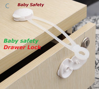 baby wardrobe - 2016 Child protection Child Baby Care Safety Security Cabinet Lock For Cabinet Drawer Wardrobe Doors Fridge Toilet