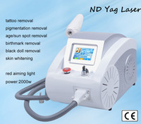 Wholesale High Quality nm nm nm Acne Scar Removal ND Yag Laser Tattoo Removal Q switch Remove Pigmentation Equipment