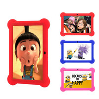 best tablet for children - HOT GB inch Android4 A33 Core Tablet PC Laptop Kids Children Touch Screen with free Silicone Case best gift for kinds