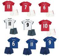 Wholesale 2016 best quality uniteds children s shirt de futbol Manchester kids Shirt boys shirt maillot de foot