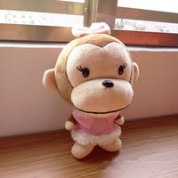 big mouth baby - 2016 New Arriving Cute Monkey With Big Mouth Plush Toys For Baby Gifts