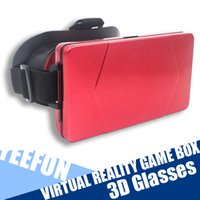 Wholesale VR Virtual Reality d Vr Glasses for Inch Smartphones for d Movies and Games Vr Box
