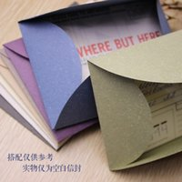 Wholesale New Retro Handmade Personality Diy Graffiti Vanilla Paper Envelope Envelopes Postcards Protective Envelope