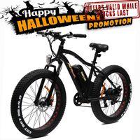 Wholesale US IN STOCK Addmotor MOTAN E bike M Platinum Fat Tire Fork Suspension E Bike Matte Black W V quot SAMSUNG Electric Bicycle