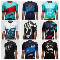 bicycle compression shorts - New Arrival MAAP Cycling Team Summer Short Sleeves Cycling Jersey Ropa ciclismo mountain Bicycle Compression Bike Clothing Size XS XL