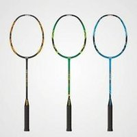 Wholesale Lightweight carbon badminton racket all the processing quality goods custom manufacturer attacking high strength carbon fiber plum