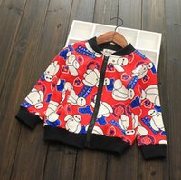 Wholesale new clothing Autumn winter wear cotton children cartoon printing single sided velvet cartoon sweater