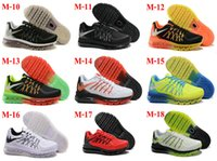 Cheap 27Color Drop Shipping Wholesale Cheap Famous Air 2015 Kids Boys Mens Running Shoes Max Sneaker Trainers Size 7-12