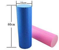 Wholesale 60 CM EVA Foam Roller Yoga Pilates Exercise Home Gym Massage Roller Fitness Equipment Fitness Sports Training Trigger Point