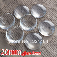abs trays - bulk piece mm flatback round clear glass cabochon tray pendant cover glass dome tile seals