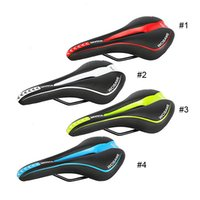 Wholesale WOSAWE Bicycle Mountain Road Racing MTB Bike Parts Cycle Racer Ride Cycling Saddle Comfortably Seat Colors